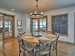Wind and dine with the whole gang in this charming dining nook.