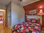 This guest bedroom is perfect for 2.