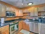 This well-appointed 1-bed, 1-bath unit accommodates 2 travelers.