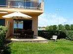 A-101-Apartment in front of the beach-private garden -