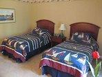 Bedroom #3, twin beds
