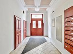 Apartment located in quiet residential building just off National Theatre in Old Town.