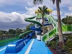 2018 April New build waterpark at the Resort.