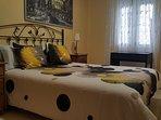 Dormitorio 2 : opción solo cama doble sin cama individual.