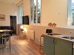 Appartement de charme sur jardin entièrement rénové près de Montmartre et du Sacré Coeur