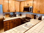Fully Equipped Kitchen-New Stainless Steel Appliances