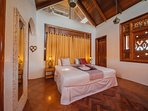 Master bedroom with terrace and en-suite bathroom