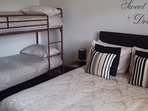 Family Room (1 x double bed & 1 x bunk bed set)