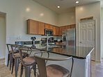 Enjoy all of the luxuries of home including this fully equipped kitchen.