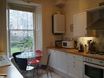 Fully fitted kitchen with all your cooking essentials. This room also contains a breakfasting table.