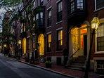 Hancock Street (actual street of rental)