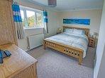 Bedroom 1:  King, overlooking the Devon countryside