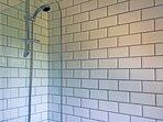 Over bath shower