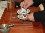 Tea ceremony by Lilan on site 2