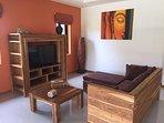 Sofa + Tv in Living Room
