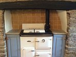 No farmhouse is complete without a cosy Aga