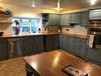 Modern facilities, dishwasher, induction hob, fan oven...