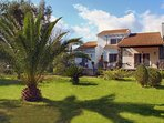 Villa Lefka and the Gardens