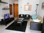 Air-conditioned lounge with 32' TV and free Wi-Fi