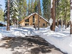 Escape to this large 3 bedroom cabin in the woods