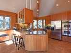 Large kitchen great for entertaining