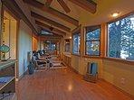 Attached sunroom / yoga studio