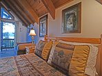 Private deck attached to master bedroom, filtered lake views