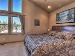 Master bedroom with plenty of space
