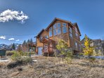 Rustic home with high finishes