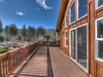 Plenty of deck space for family activities