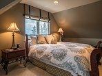 Guest bedroom one, queen bed