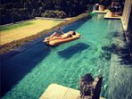 the w australian top model nicole trunfio and her family   renting for christmas for 2 weeks
