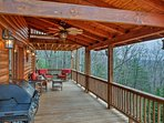 Escape to the mountains and stay at this vacation rental cabin in Blue Ridge!
