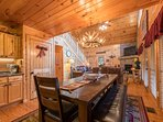 Dine in kitchen area keeps your friends & family close by to socialize