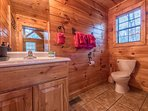 Bathroom #3 - Upstairs w/ Shower/tub