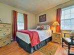 Both bedrooms have queen beds.