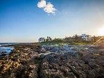 Yal-Ku beach 5 minutes walking distance from house