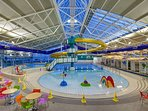 Dunbar Leisure Pool with Wave machine - Perfect for the kids on a rainy day.