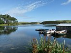 Coldingham Loch or the Whinney Loch for fishing