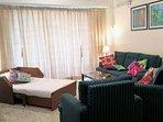 Sofa-cum-bed, living room