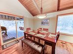 Sunriver Vacation Rental_Killdeer 6_Dining