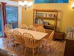 WEB-Sunriver Vacation Rental Tamarack 8 Dining Room