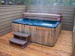 WEB-Sunriver Vacation Rental Tamarack 8 Hot Tub