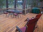 WEB-Sunriver Vacation Rental Tamarack 8 Deck