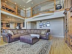 This spacious vacation rental has 7 bedrooms, 4 bathrooms and accommodates 38.