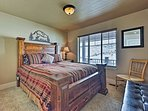 The fifth bedroom offers a queen bed.