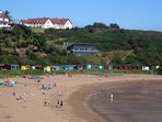 Coldingham Beach - Lifeguard Station - Surf school - Beach Cafe - Toilets