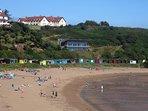 Coldingham Beach - Lifeguard Station - Surf school - Beach Cafe - Toilets