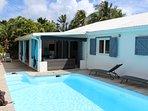 terrasse / piscine 8x4