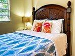 Comfy guest bedroom.